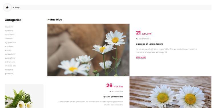 blog opencart