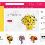 szablon sklepu internetowego OpenCart kwiaciarnia
